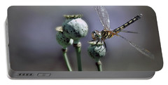 Portable Battery Charger featuring the photograph Dragonfly by Savannah Gibbs