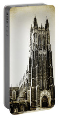 Duke Chapel Portable Battery Charger by Emily Kay