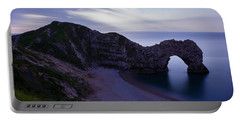 Durdle Door At Dusk Portable Battery Charger