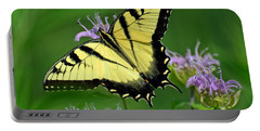 Eastern Tiger Swallowtail Portable Battery Charger by Rodney Campbell
