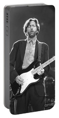 Eric Clapton Portable Battery Charger by Concert Photos