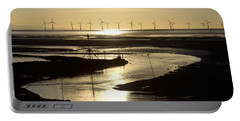 Evening Low Tide  Portable Battery Charger