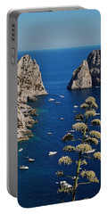 Faraglioni In Capri Portable Battery Charger