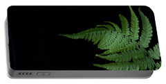 Portable Battery Charger featuring the photograph Fern II by Alana Ranney