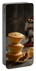 Festive Mince Pies Portable Battery Charger