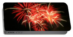 Fireworks Over Kauffman Stadium Portable Battery Charger