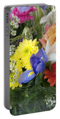 Floral Bouquet 4 Portable Battery Charger