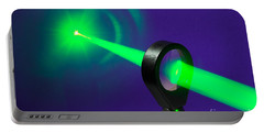 Focusing Laser Light Portable Battery Charger