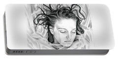 Forget Me Not - Laura Palmer - Twin Peaks Portable Battery Charger