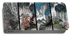 Portable Battery Charger featuring the photograph Four Seasons In Harmony by Yufeng Wang