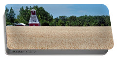 Portable Battery Charger featuring the photograph Fox Tower by Keith Armstrong