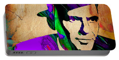 Frank Sinatra Painting Portable Battery Charger