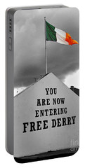 Free Derry Wall Portable Battery Charger by Nina Ficur Feenan