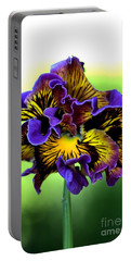 Frilly Pansy Portable Battery Charger