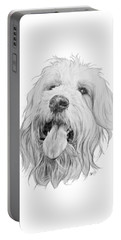 Goldendoodle Portable Battery Charger