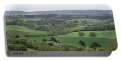 Green And Pleasant Land Portable Battery Charger by Jayne Wilson
