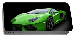 Green Aventador Portable Battery Charger