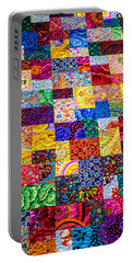 Hand Made Quilt Portable Battery Charger by Sherman Perry