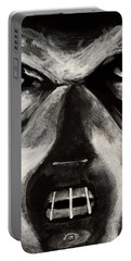 Portable Battery Charger featuring the painting Hannibal by Dale Loos Jr
