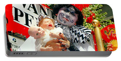 Portable Battery Charger featuring the photograph 2 Heads Are Better Than One by Ed Weidman