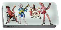 Sixties And Seventies Musicians Portable Battery Charger