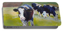Holstein Friesian Cows Portable Battery Charger