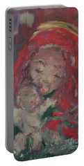 Portable Battery Charger featuring the painting Hope  by Laurie L