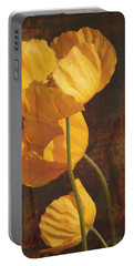 Icelandic Poppy Portable Battery Charger by Bellesouth Studio
