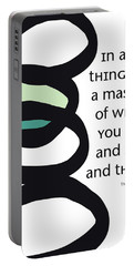 In All Things Portable Battery Charger by Linda Woods