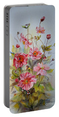 Japanese Anemones Portable Battery Charger