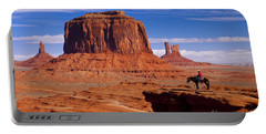 John Ford Point Monument Valley Portable Battery Charger
