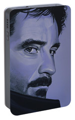 Kevin Kline Portable Battery Charger by Paul Meijering