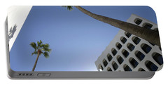 Portable Battery Charger featuring the photograph Looking Up In Beverly Hills by Cora Wandel