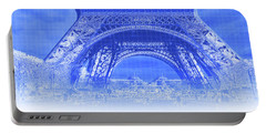 Low Section View Of A Tower, Eiffel Portable Battery Charger