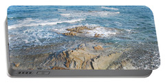 Portable Battery Charger featuring the photograph Low Tide by George Katechis