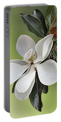 Magnolia Blossom Portable Battery Charger