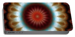Portable Battery Charger featuring the digital art Mandala 83 by Terry Reynoldson
