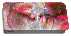 Portable Battery Charger featuring the digital art Metamorphosis  by Margie Chapman