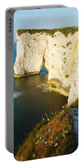 Morning Light At Old Harry Rocks Portable Battery Charger