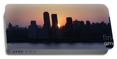 Portable Battery Charger featuring the photograph Morning On The Hudson by Lilliana Mendez