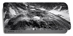 Portable Battery Charger featuring the photograph Mt St. Helen's Crater by David Millenheft