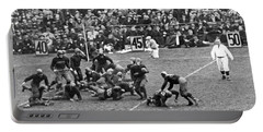 Notre Dame-army Football Game Portable Battery Charger by Underwood Archives