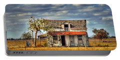 Portable Battery Charger featuring the photograph Old Home by Savannah Gibbs