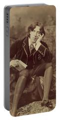 Oscar Wilde 1882 Portable Battery Charger