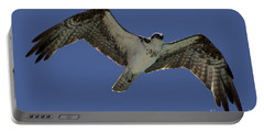 Portable Battery Charger featuring the photograph Osprey In Flight Photo by Meg Rousher