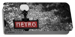Paris Metro Portable Battery Charger