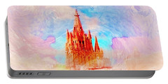 Portable Battery Charger featuring the photograph Parish Of St. Michael The Archangel by John  Kolenberg