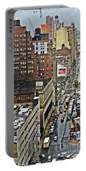 Portable Battery Charger featuring the photograph Park N Lock by Lilliana Mendez