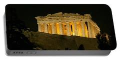 Parthenon Portable Battery Charger by Ellen Henneke