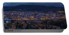 Portable Battery Charger featuring the photograph Pontevedra Panorama From A Caeira by Pablo Avanzini